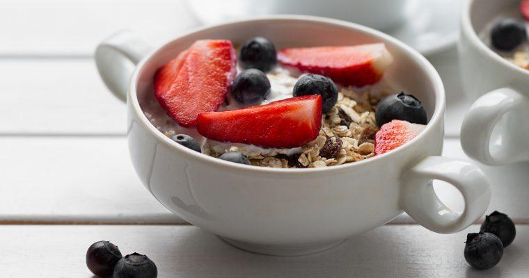 colazione sana con porridge