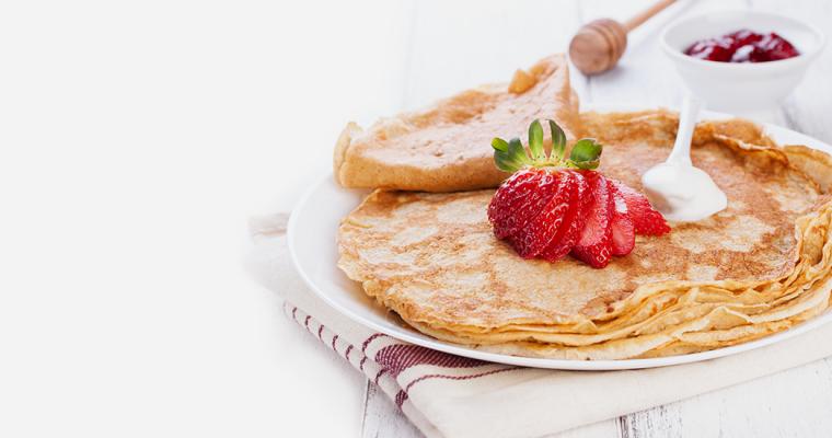 Crepes dolci o salate per colazione: come si preparano?
